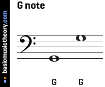 G note